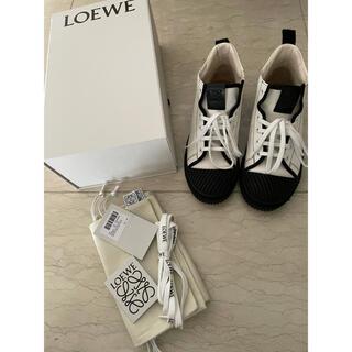 LOEWE - ロエベ💕ロゴ ハイトップスニーカー👟