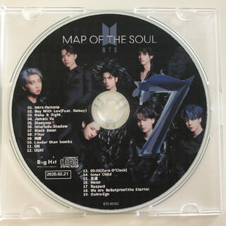 防弾少年団(BTS) - BTS  「MAP OF THE SOUL 7」
