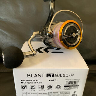 DAIWA - ダイワ ブラストLT 6000D-H  未使用に近い