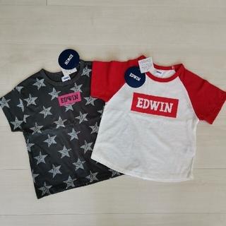 EDWIN - 新品🌿EDWIN 半袖Tシャツ🌼110.120cm
