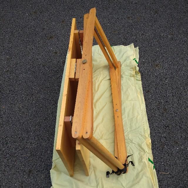 PRIMUS(プリムス)の【ビンテージ】PRIMUS フォールディングテーブル ウッド 木製 レア スポーツ/アウトドアのアウトドア(テーブル/チェア)の商品写真