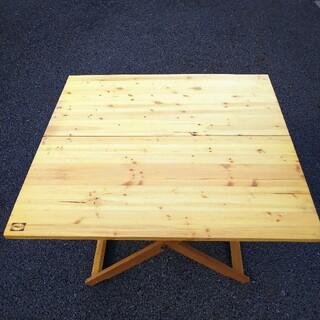 プリムス(PRIMUS)の【ビンテージ】PRIMUS フォールディングテーブル ウッド 木製 レア(テーブル/チェア)