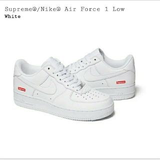 Supreme - Supreme Air Force 1 Low White  US8 26㎝