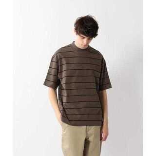 スティーブンアラン(steven alan)の<Steven Alan> ボーダー モックネック ショートスリーブ Tシャツ(Tシャツ/カットソー(半袖/袖なし))