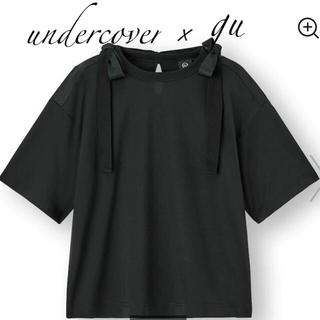 アンダーカバー(UNDERCOVER)のundercover×guリボンデザインT Ssize(Tシャツ(半袖/袖なし))