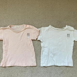 キッズズー(kid's zoo)の80サイズ Tシャツ 2枚セット(Tシャツ)