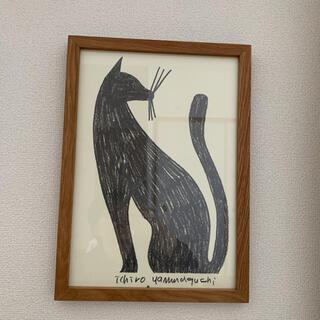 山口一郎 原画 一点物 絵画 ネコ