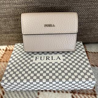 Furla - FURLA フルラ 三つ折り財布 ピンク ベージュ ミニ財布
