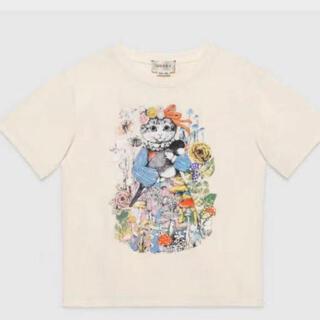 グッチ(Gucci)のGucci kids ヒグチユウコ Tシャツ(Tシャツ/カットソー)