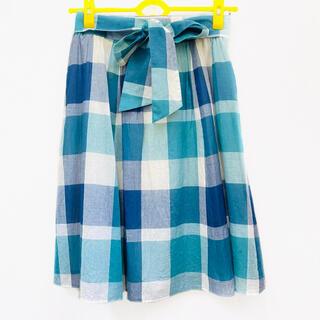 BURBERRY BLUE LABEL - 【BLUE LABEL CRESTBRIDGE】膝丈スカート 38
