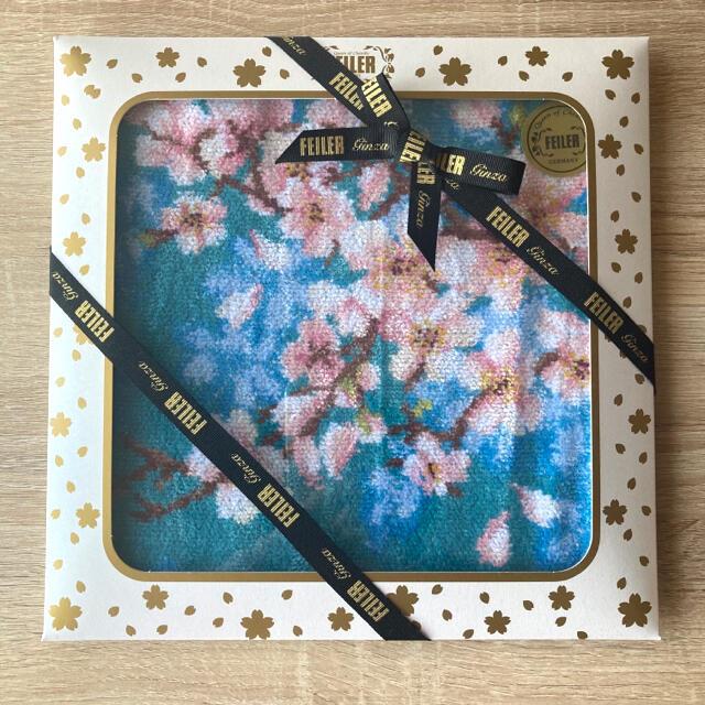 FEILER(フェイラー)のFEILER  SAKURA  ハンカチ レディースのファッション小物(ハンカチ)の商品写真