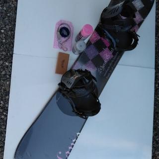ヘッド(HEAD)のHEAD スノーボードセット142 おまけブーツ付き(ボード)