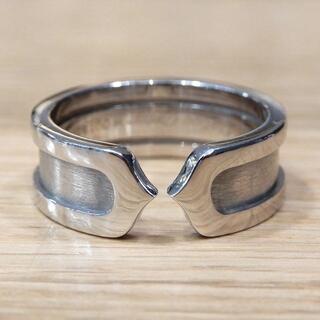 Cartier - 新品同様 カルティエ 研磨済み C2リング 指輪 WG #49