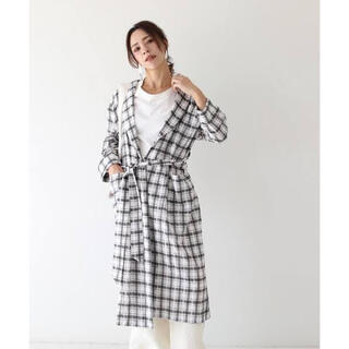 TODAYFUL - TODAYFUL Check rough gown 36