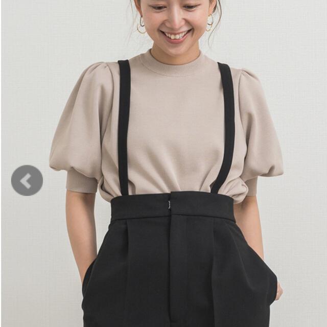 Drawer(ドゥロワー)のyori コットンパフスリーブニット 完売 新品未使用 レディースのトップス(ニット/セーター)の商品写真