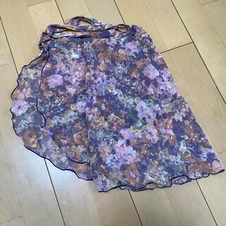 バレエ 巻きスカート