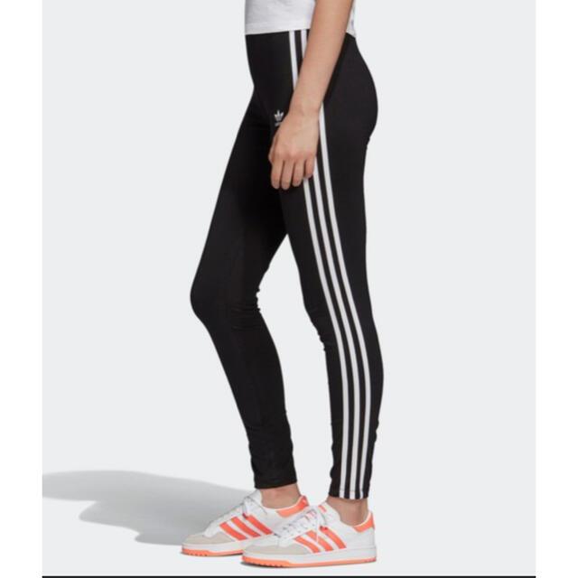 adidas(アディダス)の新品 アディダス レギンス ブラック Sサイズ レディースのレッグウェア(レギンス/スパッツ)の商品写真