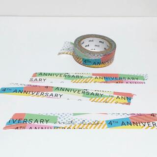 エムティー(mt)の【非売品】mt lab 4周年 ノベルティ(テープ/マスキングテープ)