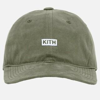 Supreme - KITH SANDWASH COTTON CAP ボックスロゴ