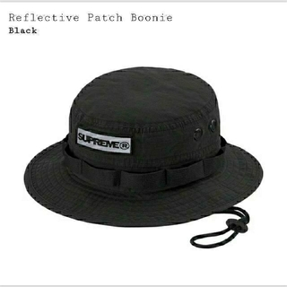 Supreme - Supreme  Reflective Patch Boonie  S/M 黒
