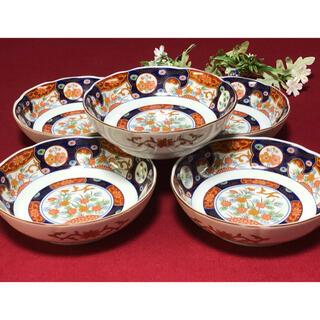 美濃焼 庫山窯 三平皿 なます皿 膾皿 深皿 古伊万里 未使用