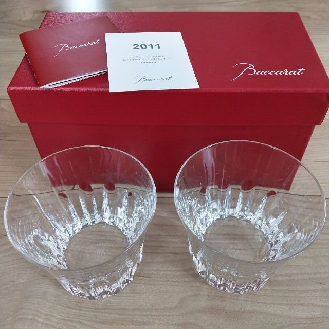 Baccarat(バカラ)のバカラペアグラス インテリア/住まい/日用品のキッチン/食器(グラス/カップ)の商品写真