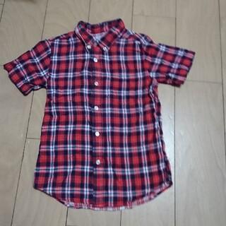 ジーユー(GU)のキッズシャツ  140(ブラウス)
