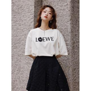 LOEWE - ✨2枚9000円✨LOEWE刺繍ロゴ人気の半袖