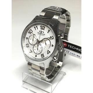 テクノス(TECHNOS)のテクノス  クロノグラフ   ホワイトシルバー(腕時計(アナログ))