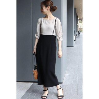 Spick and Span Noble - 【美品】ノーブル サロペットスカート 38