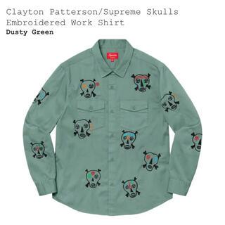 Supreme - Supreme Clayton Patterson Skulls シャツ XL