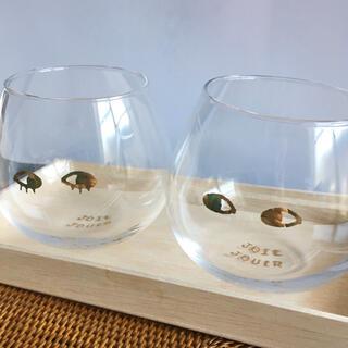 ウニコ(unico)のunico JOIE JOUERペアグラス(グラス/カップ)