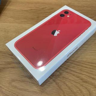 Apple - iPhone 11 64GB レッド 新品未開封