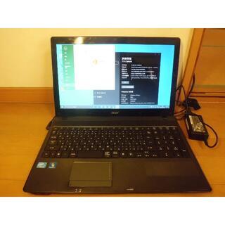 エイサー(Acer)のワードエクセル2013付 15.6インチ ノートパソコン(ノートPC)