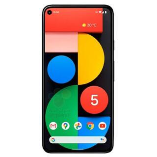 Google - pixel5 5G  ブラック 新品未使用品 SIMロック解除済