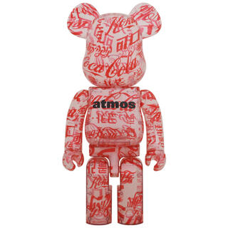 atmos - BE@RBRICK atmos×Coca-Cola1000% CLEARBODY