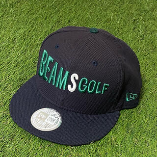 BEAMS - BEAMS GOLF ビームスゴルフ フラットプリムキャップ メンズ フリー 紺