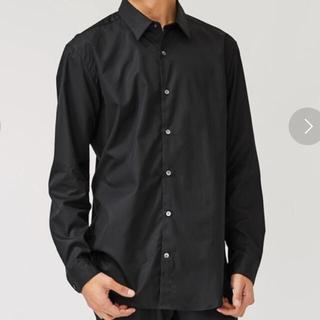 ステュディオス(STUDIOUS)のストゥディオス ブロードレギュラーカラーシャツ 黒(シャツ)