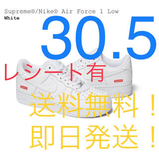 Supreme - 【新品】SUPREME NIKE AIR FORCE 1 LOW 30.5㎝ 白