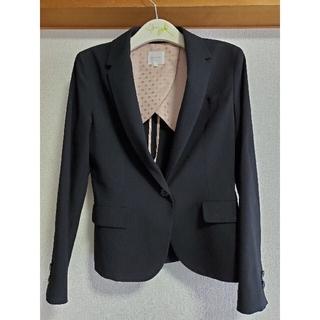 グローブ(grove)のグローブ Lサイズ きれい目黒のジャケット 内側は、水玉模様の裏地あり(テーラードジャケット)