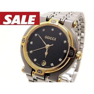 Gucci - グッチ 時計 ■ 9000L ステンレス コンビカラー 11P ダイヤ