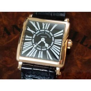 フランクミュラー(FRANCK MULLER)のフランク・ミュラー  マスタースクエア 6002 S 18K PG ゴールド無垢(腕時計)