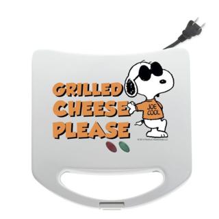 スヌーピー&ウッドストック ホットサンド グリルドチーズメーカー