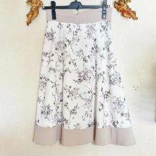 MISCH MASCH - フロッキー花柄スカート