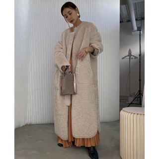 Ameri VINTAGE - TWIN BOA 2way COAT