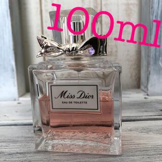 Christian Dior - 美品! クリスチャンディオール ミスディオール オードトワレ 100ml