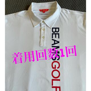 ビームス(BEAMS)のBEAMS GOLF ORANGE LABEL / BIG LOGO ポロシャツ(ウエア)