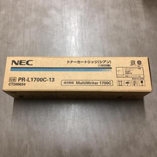 エヌイーシー(NEC)のNEC PR-L1700C-13 純正トナーカートリッジ シアン(OA機器)