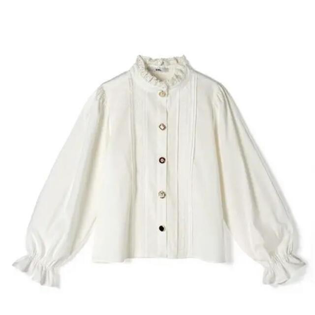 GRL(グレイル)のGRL フリルシャツ レディースのトップス(シャツ/ブラウス(長袖/七分))の商品写真