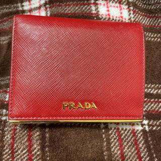 PRADA - 2つ折り財布